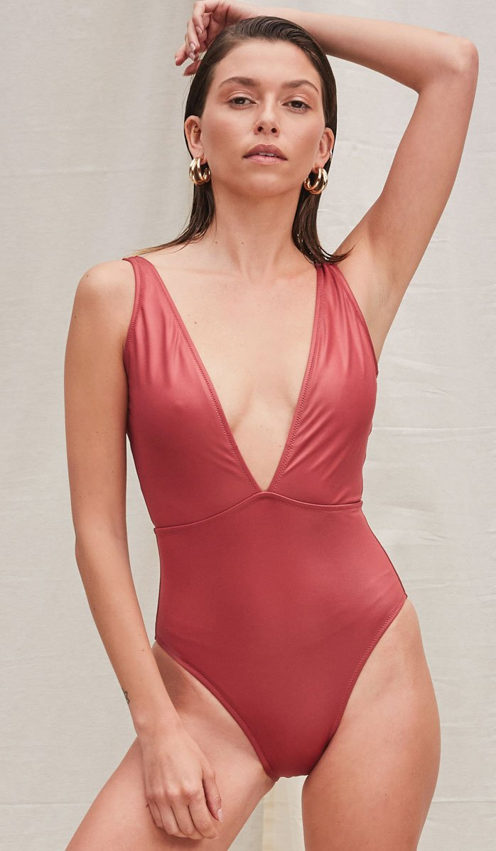 The Beverly Sunset One-Piece