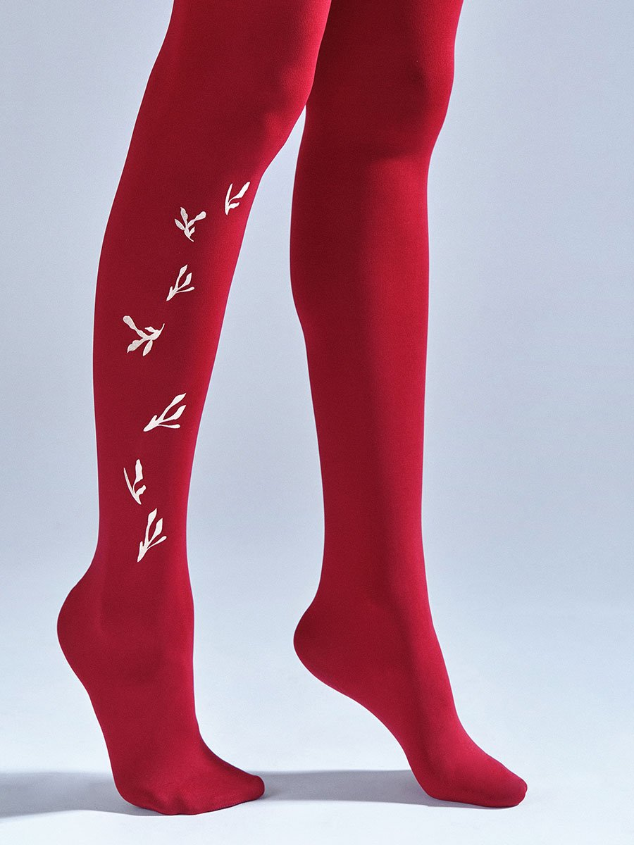New England Red Tights