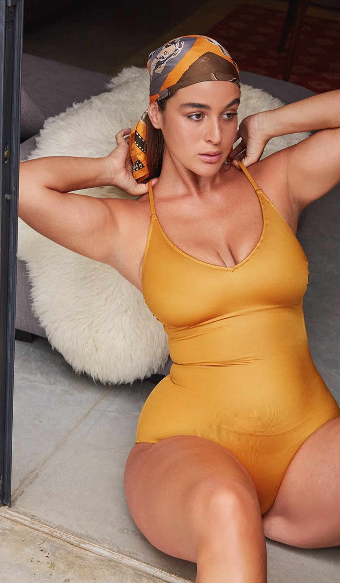 The Farrah Bronze One-Piece