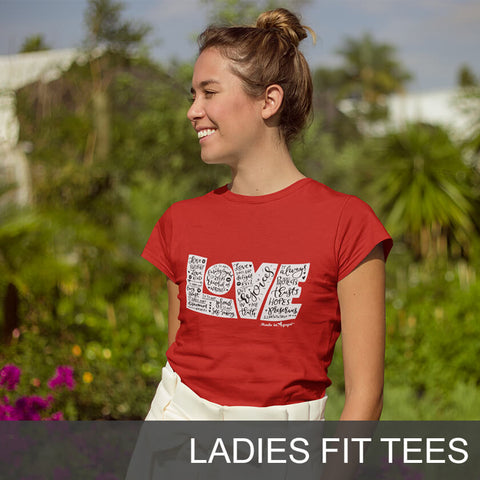Christian Ladies Fit Tees