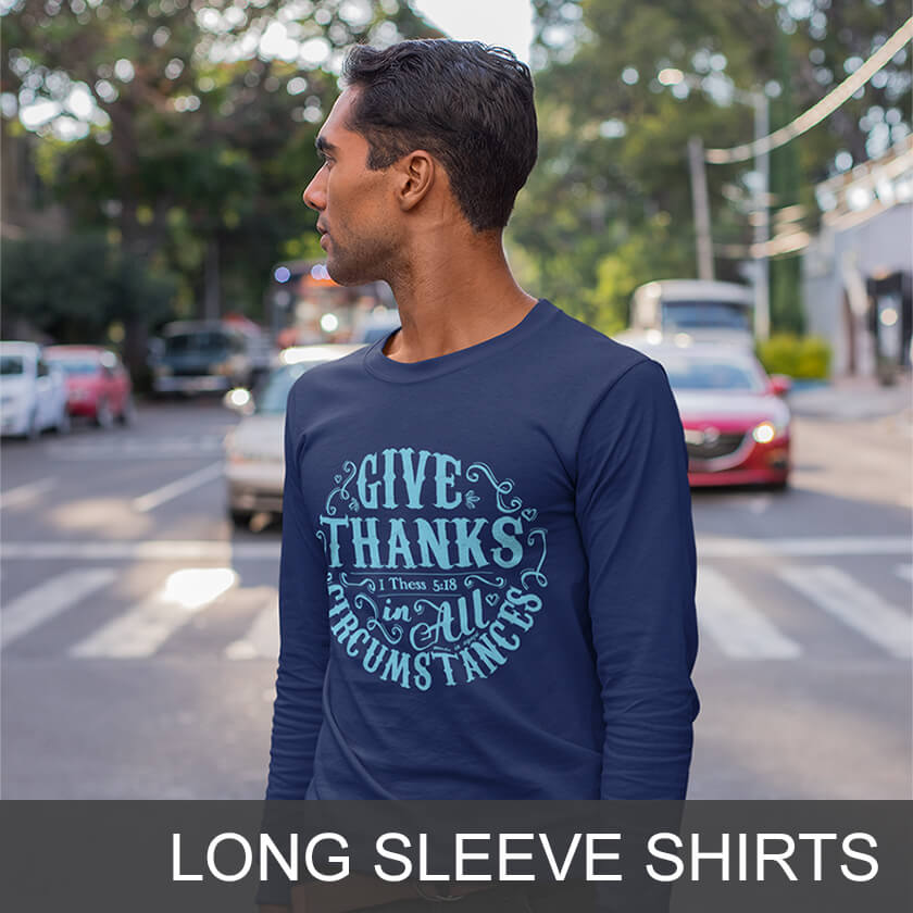 Christian Long Sleeve Shirts for Men