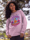 She's Clothed With Strength And Dignity - Women's Sweatshirt-Made In Agapé
