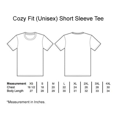 Never Give Up - Cozy Fit Short Sleeve Tee-Made In Agapé