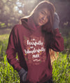 Fearfully And Wonderfully Made - Women's Hoodie-Made In Agapé