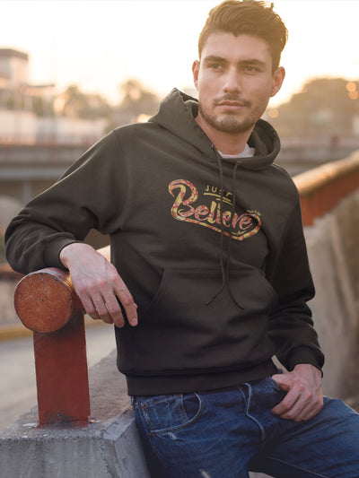 Just Believe - Men's Hoodie-Made In Agapé