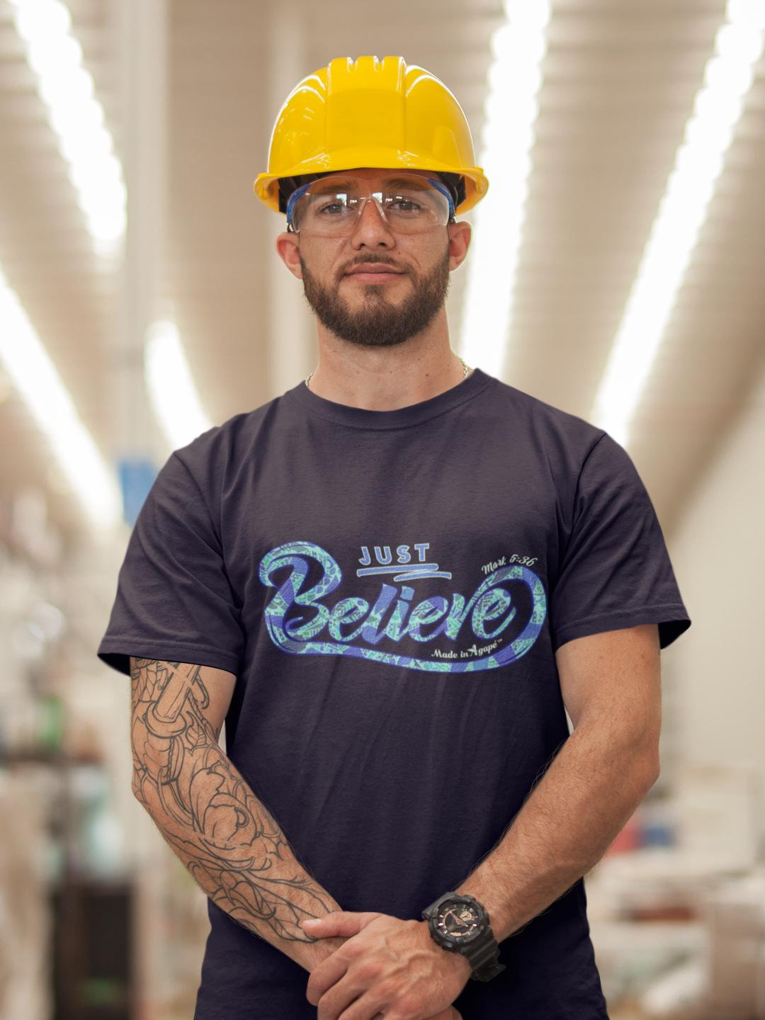 Just Believe - Unisex Crew-Made In Agapé