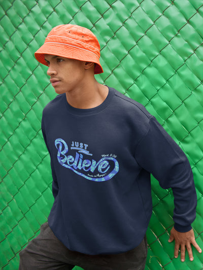 Just Believe - Men's Sweatshirt-Made In Agapé