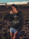 Lamp For Feet And Light On Path - Women's Sweatshirt-Made In Agapé