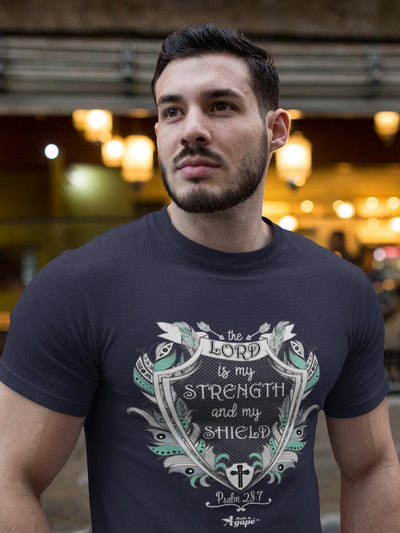 Lord Is My Strength and Shield - Unisex Crew-Made In Agapé