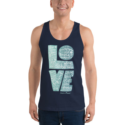 LOVE Is Patient - Unisex Tank-Made In Agapé