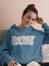 LOVE Protects - Women's Hoodie-Made In Agapé