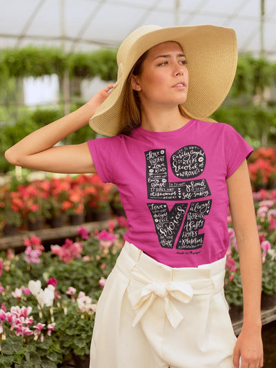 LOVE Is Patient - Ladies' Fit Tee-Made In Agapé