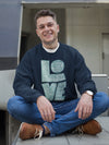 LOVE Is Patient - Men's Sweatshirt-Made In Agapé