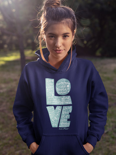 LOVE Is Patient - Women's Hoodie-Made In Agapé