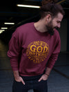 Nothing Impossible With God - Men's Sweatshirt-Made In Agapé