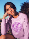 Nothing Impossible With God - Women's Sweatshirt-Made In Agapé