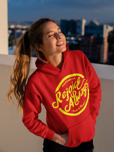 Rejoice Always -Women's Hoodie-Made In Agapé