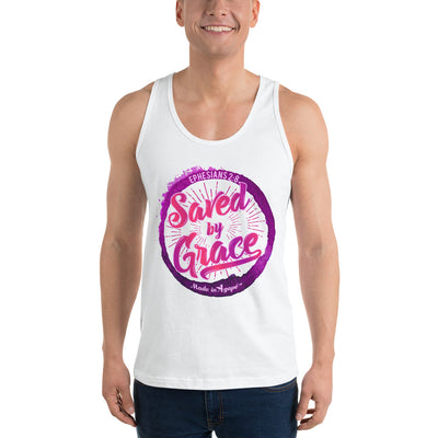 Saved By Grace - Unisex Tank-Made In Agapé