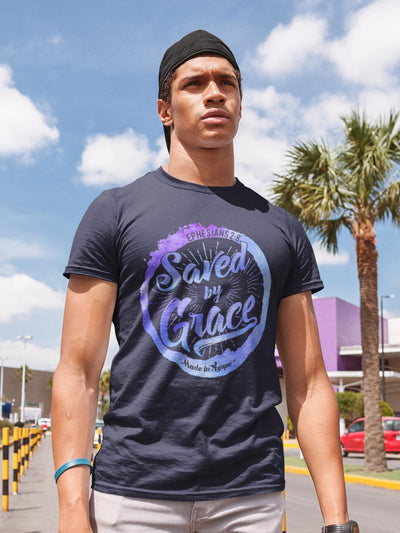 Saved By Grace - Unisex Crew-Made In Agapé