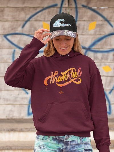 Thankful - Women's Hoodie-Made In Agapé