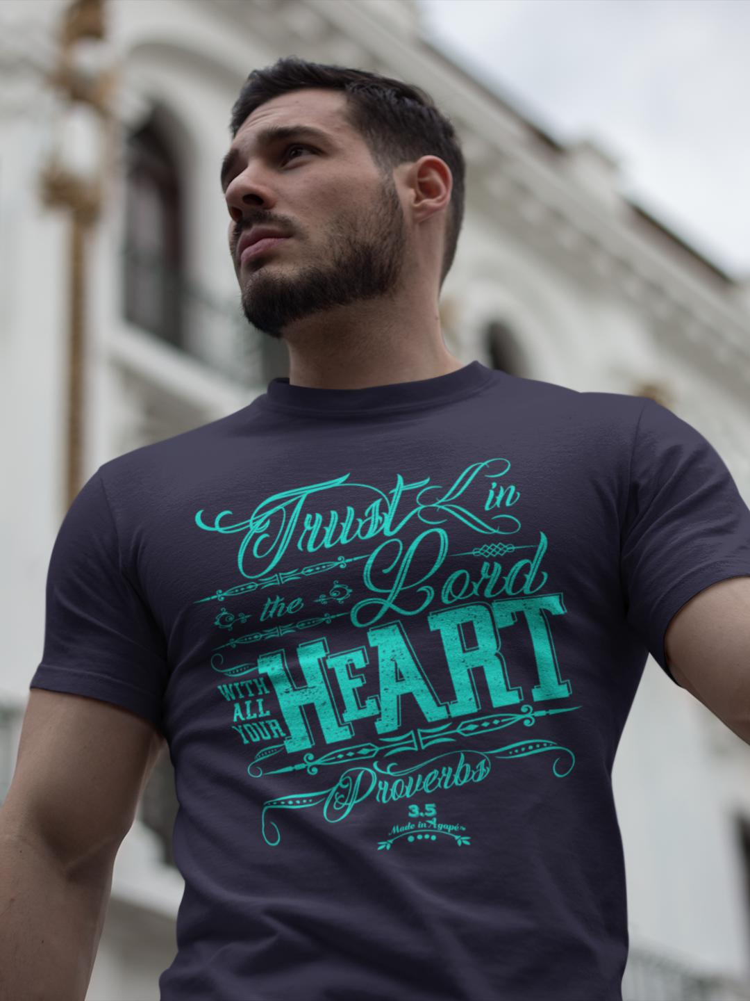 Trust In The Lord - Unisex Crew-Made In Agapé
