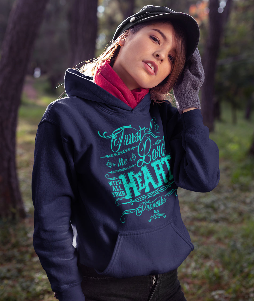 Trust In The Lord - Women's Hoodie-Made In Agapé