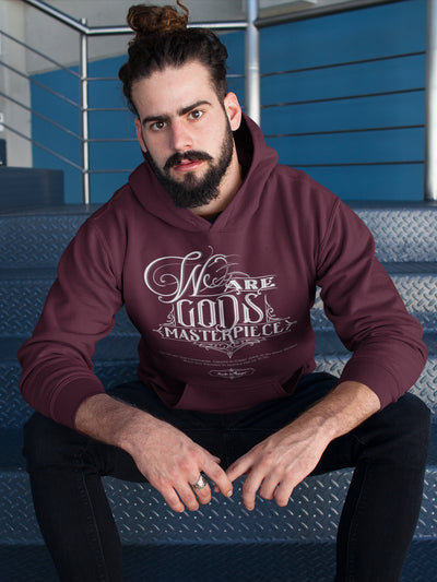 We Are God's Masterpiece - Men's Hoodie-Made In Agapé