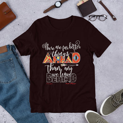 Far Better Things Ahead - Unisex Crew-Oxblood Black-S-Made In Agapé