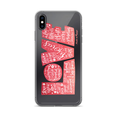 LOVE Protects - iPhone Case-iPhone XS Max-Made In Agapé