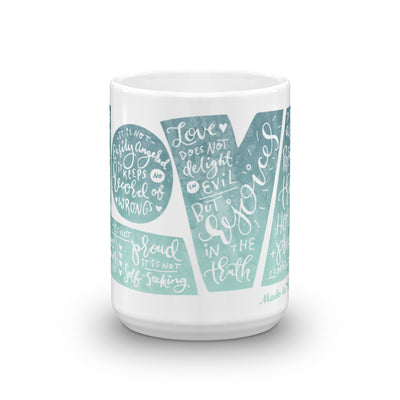 LOVE Protects - Coffee Mug-15oz-Front-Made In Agapé