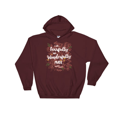 Fearfully And Wonderfully Made - Women's Hoodie-S-Made In Agapé