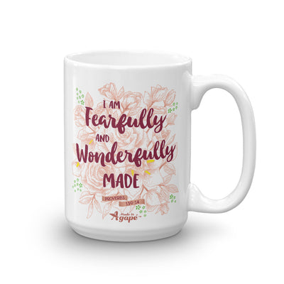 Fearfully And Wonderfully Made - Coffee Mug-15oz-Made In Agapé