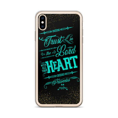 Trust In the Lord - iPhone Case-Made In Agapé