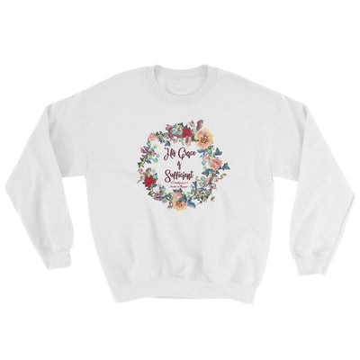 His Grace Is Sufficient - Women's Sweatshirt-White-S-Made In Agapé
