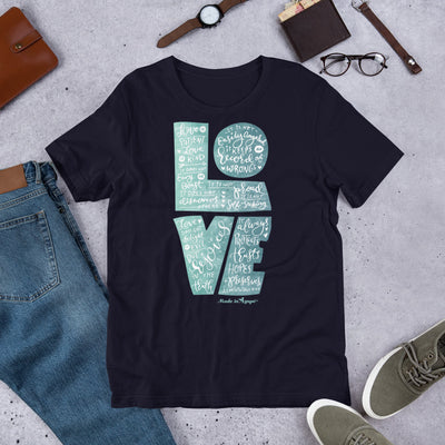 LOVE Is Patient - Unisex Crew-Navy-XS-Made In Agapé