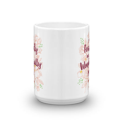 Fearfully And Wonderfully Made - Coffee Mug-15oz-Front-Made In Agapé