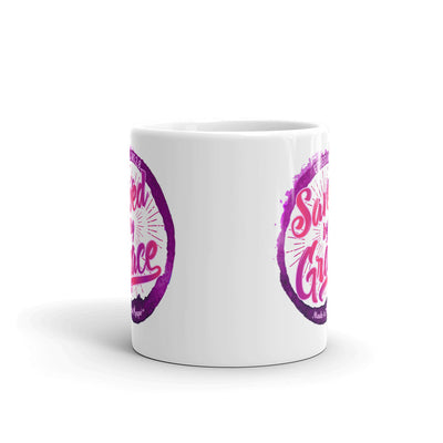 Saved By Grace - Coffee Mug-11oz-Front-Made In Agapé