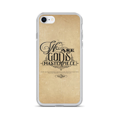 We Are God's Masterpiece - iPhone Case-iPhone 7/8-Made In Agapé