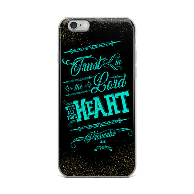 Trust In the Lord - iPhone Case-iPhone 6 Plus/6s Plus-Made In Agapé