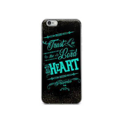 Trust In the Lord - iPhone Case-iPhone 6/6s-Made In Agapé