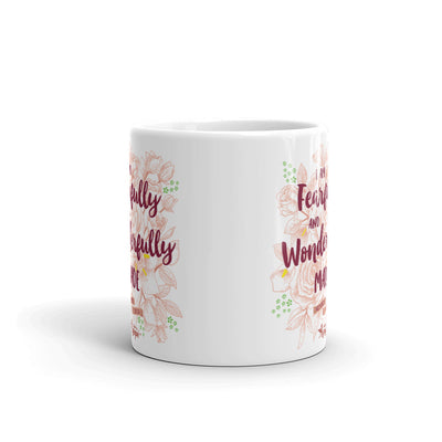 Fearfully And Wonderfully Made - Coffee Mug-11oz-Front-Made In Agapé