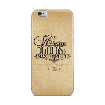 We Are God's Masterpiece - iPhone Case-iPhone 6 Plus/6s Plus-Made In Agapé