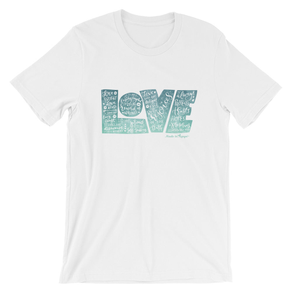 LOVE Protects - Cozy Fit Short Sleeve Tee