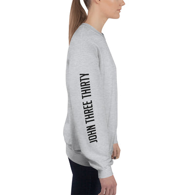 More Him Less Me - Women's Sweatshirt-Made In Agapé