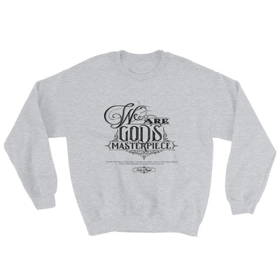 We Are God's Masterpiece - Women's Sweatshirt-Sport Grey-S-Made In Agapé