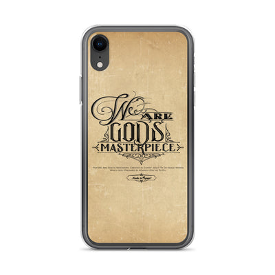 We Are God's Masterpiece - iPhone Case-iPhone XR-Made In Agapé