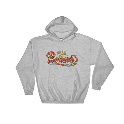Just Believe - Men's Hoodie-Sport Grey-S-Made In Agapé
