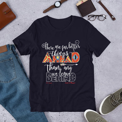 Far Better Things Ahead - Unisex Crew-Navy-XS-Made In Agapé
