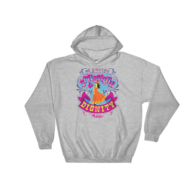 She's Clothed With Strength And Dignity - Women's Hoodie-Sport Grey-S-Made In Agapé
