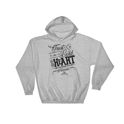 Trust In The Lord - Men's Hoodie-Sport Grey-S-Made In Agapé